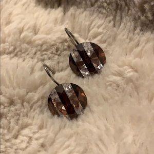 Henri Bendel Centennial Striped Earrings
